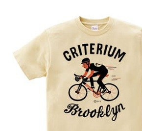 Brooklyn ★ bicycle race 150.160 (WomanM.L) T-shirt order product]