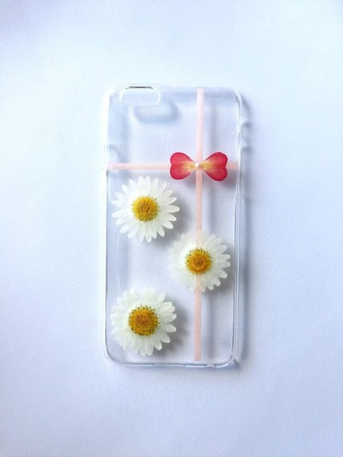 iPhone case flower ribbon