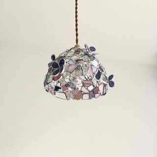 Pendant light Romantic Night Clover & Pink Purple Bay View