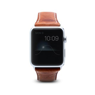SLG Design Apple Watch 1/2/3 42mm D7 IWL 上蜡复刻款 真皮表带