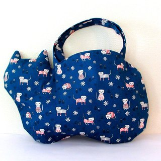 New cat bag Big cat blue