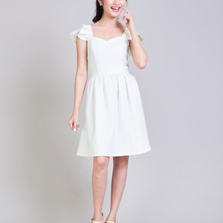 White Dress White Bridal Dress Wedding Dress Wedding Gown Bridesmaid Dress