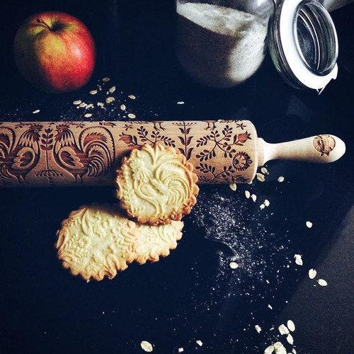 Country style chicken rolling pin * FOLK