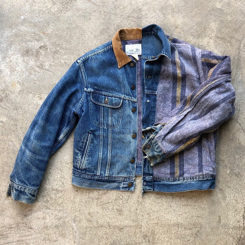 70s LEE STORM RIDER DENIM JACKET