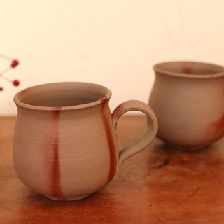 Bizen coffee cup · Medium 2 pieces (shirts) c 2 -134