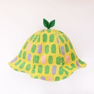 SALE! Grow Up! Leaf Hat for Baby & Toddler / Beans YELLOW