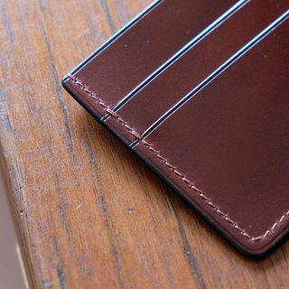 Mildy Hands - Card Wallet 01 随身夹 Japanese Cordovan 马臀皮