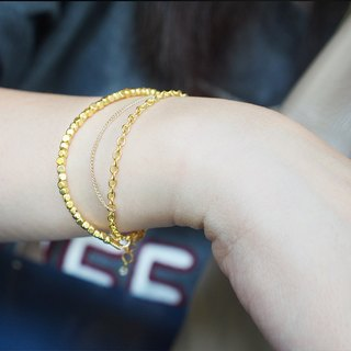Brass bracelet from Niyome craft