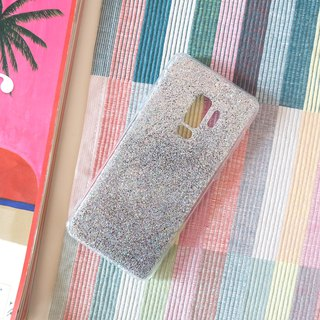 classic silver | case, phone case, glitter case, iphone case, samsung case