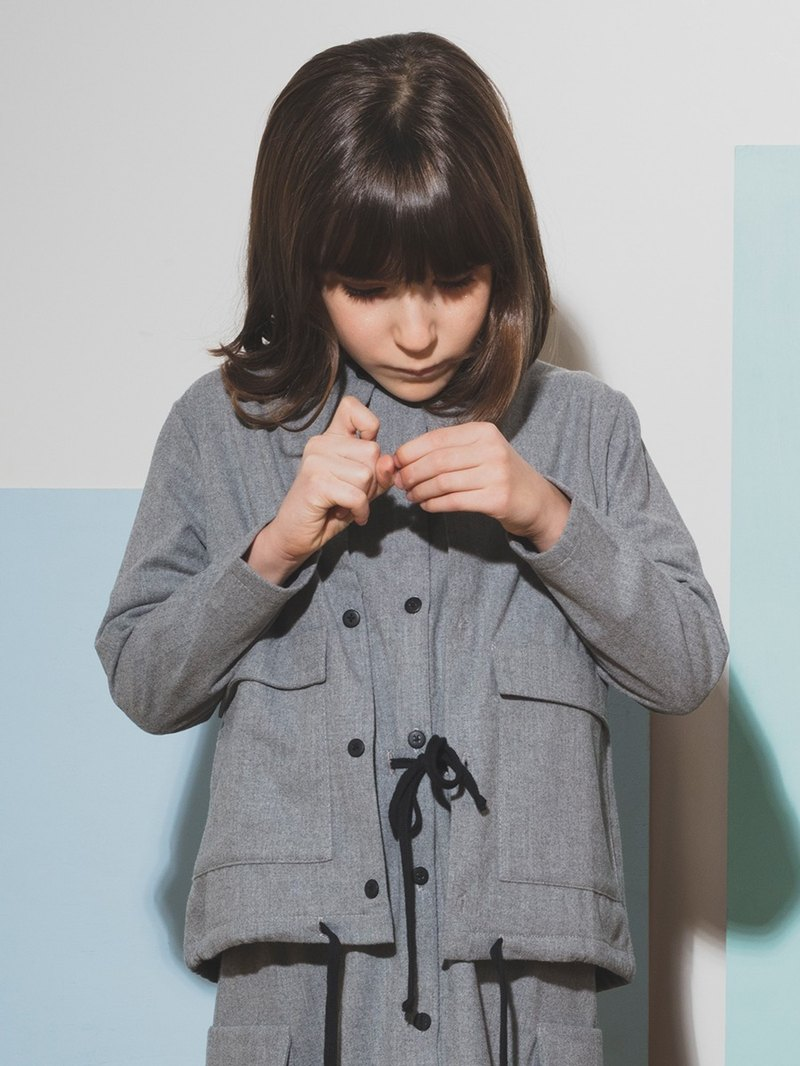 Overshirt Light Grey 6-7Y