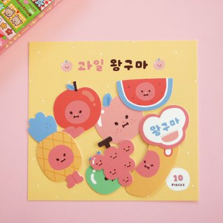 Fruit wanggooma stickers