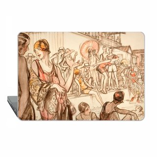 Macbook case Pro 13 15 Retina Pro 15 touch bar illustrator MacBook Air 11 13 Case vintage Macbook 12 Macbook classic art Case Hard Plastic 1715