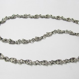 Fox side CHAIN ​​NECKLACE