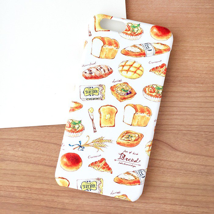 For orders of bertha 12301 - Bread iPhone 7plus hard case (white)