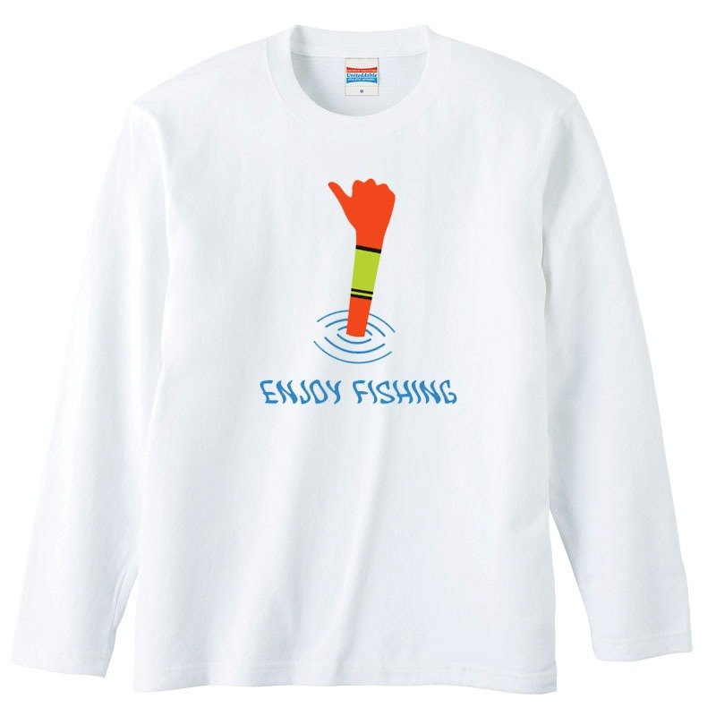 [Long sleeve T-shirt] Enjoy fishing