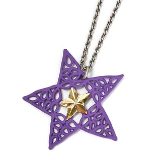 Metropolis Purple Necklace NE 404 PU