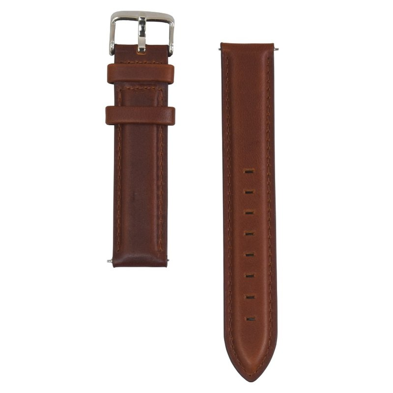BOND STONE 20mm Genuine leather belt Brown(40mm case only)