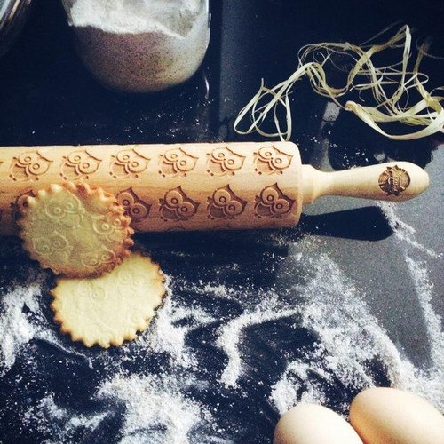 Baby owl rolling pin * BABY OWL