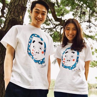 Hyottoko Men & Women's  couple 2 pair t-shirts
