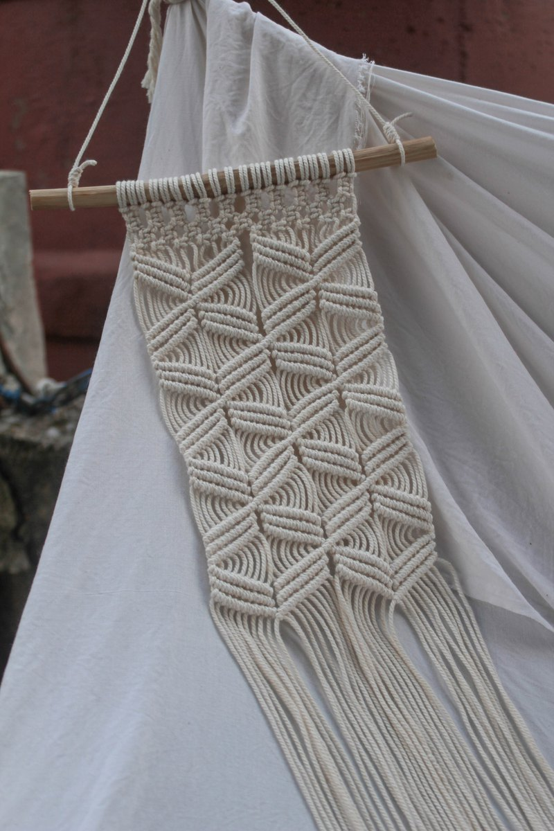 Wall Hanging ,Decoration ,Macrame ,Gift ,Minimalism