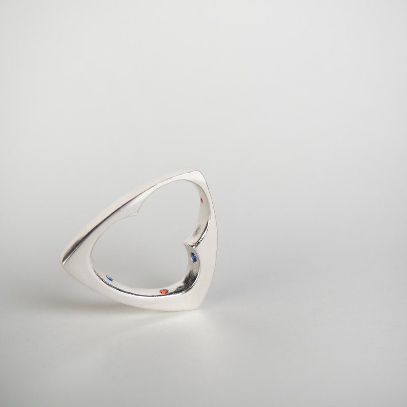 Tracery-ring (silver)