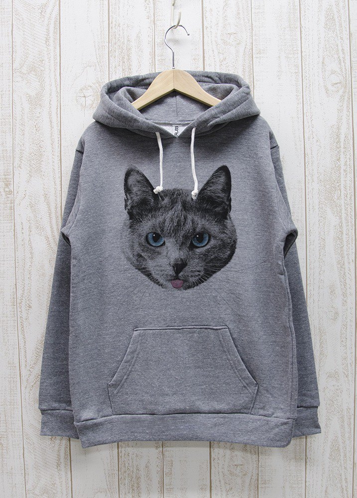 ronronCAT Parker Beh Heather Gray / R020-P-GR