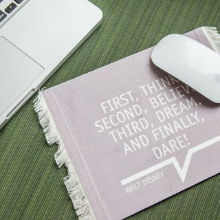 [STUDIO MANGO] The New Classic 系列 - The Quote 语录地毯地毡鼠标垫/鼠标垫 Rug/Carpet Mouse pad mousepad(Quotation)
