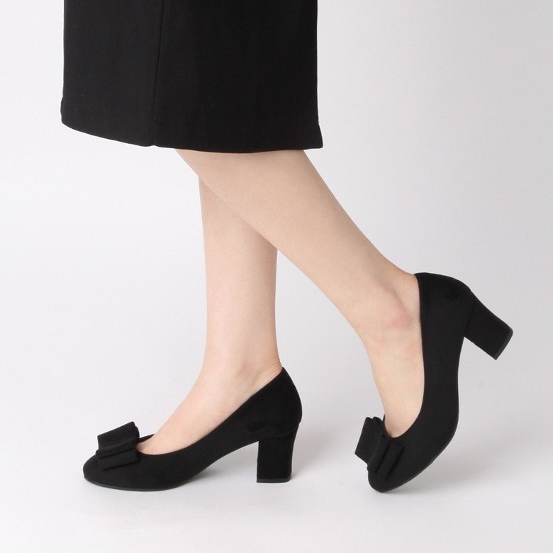 PRE-ORDER – 秋冬 SPUR TENDER BOW PUMPS 高跟鞋 JF9048 BLACK