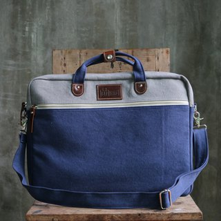BAG UP : LAPTOP : GREY NAVY