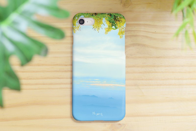44-4 abstract leafs iphone case for iphone 6,7,8, plus iphone xs, iphone xs max