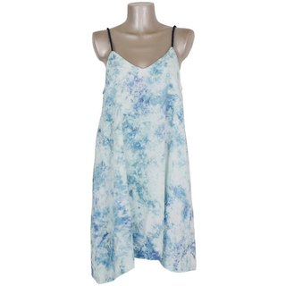 Uneven dyeing camisole beach dress <Ice Blue>