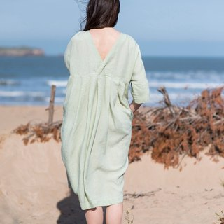 Linen Dress Motumo 16S6