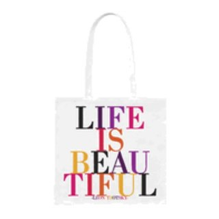 Life Is Beautiful 帆布袋