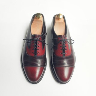 90s 美制横饰牛津皮鞋|Florsheim Cap Toe Oxford US 8D EUR 40