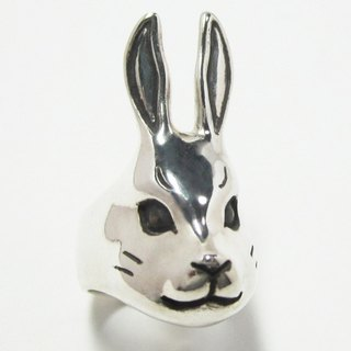 Rabbit face PINKY RING