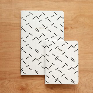 Notebook set : Herringbone (set of 2)