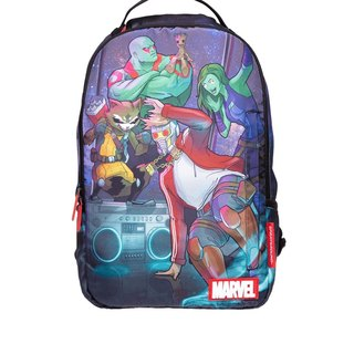 【SPRAYGROUND】DLX MARVEL 联名系列 Guardians of the Galaxy Breakdancers 星际异攻队跳街舞潮流笔电后背包