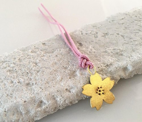 Sakura ◇ Accepted ◇ Brass Braid Bookmark