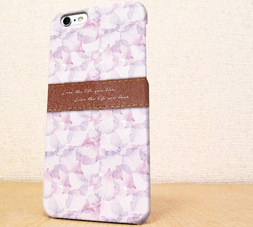 Free Shipping ☆ iPhone case GALAXY case ☆ Love the life Pink phone case