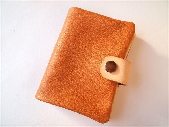 B7 [classic camel] pig leather soft notebook cover [MTO] Leather 1615