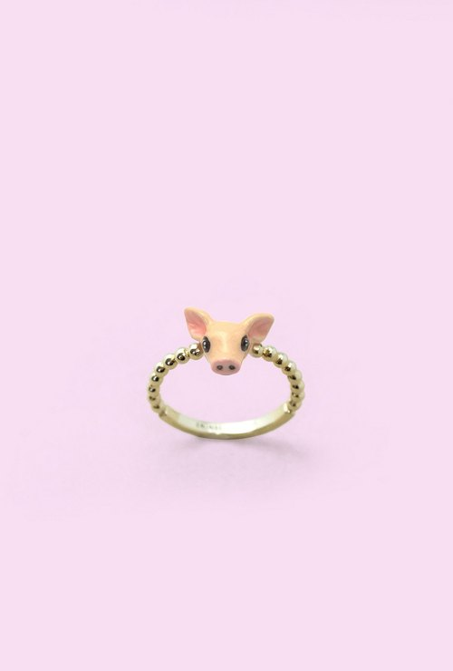 Pig Ring - Chinese zodiac animals. Sign - Zign Collection , 豬年