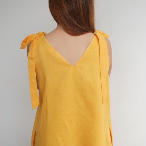 Foak Tie Top Dress