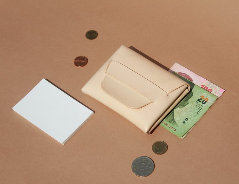Wallet Leather ,Card Holder ,Stitch less Leather ,Minimalist wallet leather