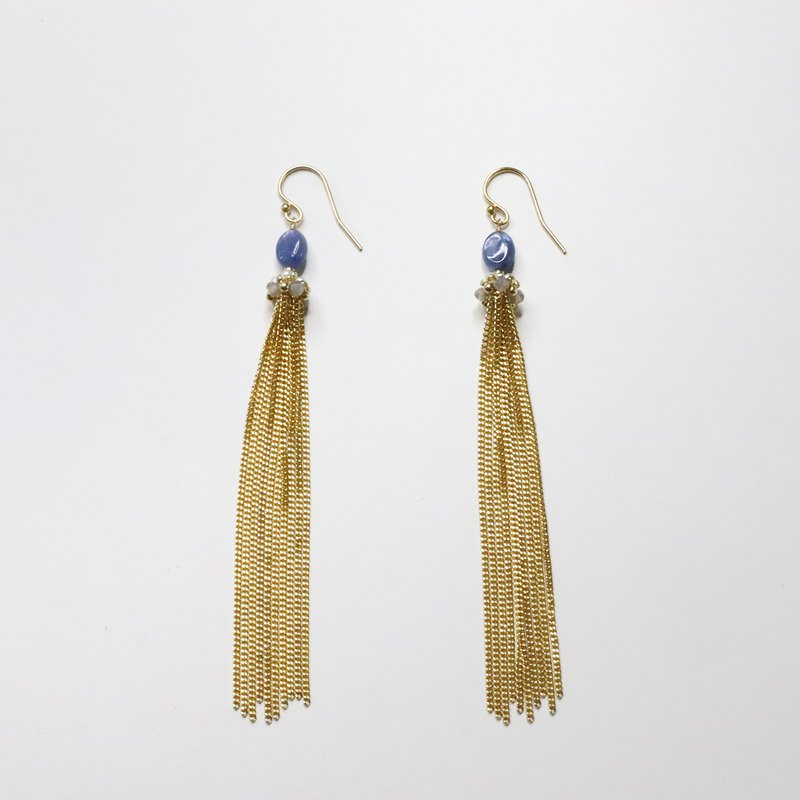 美好年代耳勾 Belle Époque Earring / 14kgf