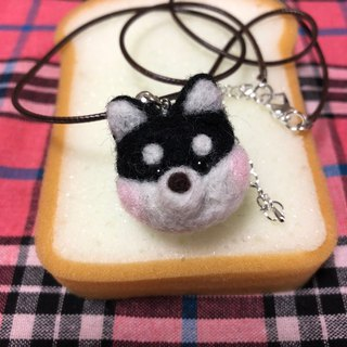 Wool felt pendant top