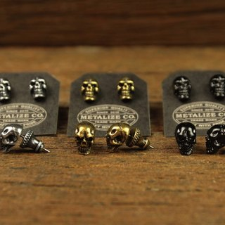 F.T.W Skull Earrings Type2 F.T.W骷髅耳环Type2