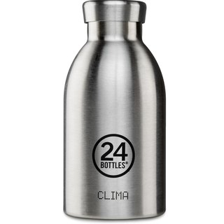 新品 24Bottles - Clima Steel (330ml) - 不锈钢保温水瓶