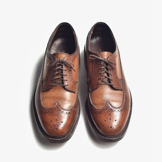 70s 美制双调皮鞋|Hanover Two-tone Wingtip Blucher US 9.5E EUR 43