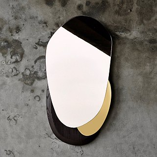 - Apipia Concept - Pebble Wall Mirror鹅卵石镜饰