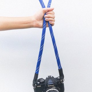 Troopers Camera Strap Blue